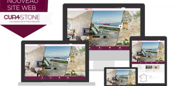 Nouveau site web CUPA STONE