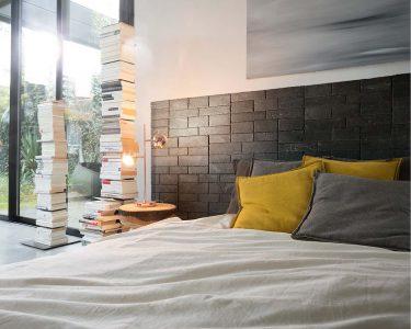 Créez une tête de lit minérale dans votre chambre avec Stonetack®