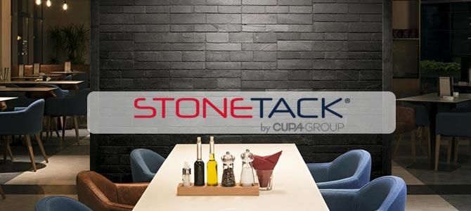 STONETACK, le premier panneau en pierre naturelle auto-adhésif