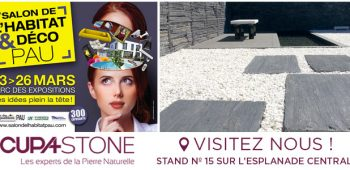 Les experts de la pierre naturelle cupa stone for Salon de l habitat a vannes 2017