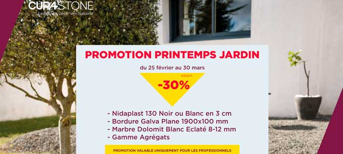 Promotion Printems Jardin CUPA STONE